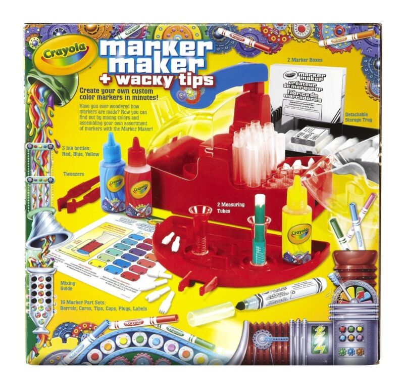 Crayola Marker Maker Wacky Tips , New, Free Shipping