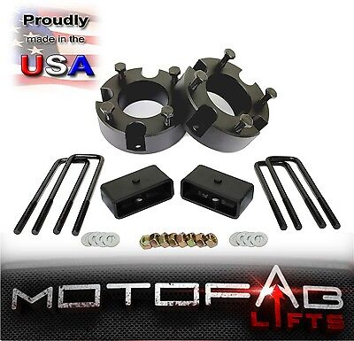"""3"""" Front and 2"""" Rear Leveling lift kit for 2007-2018 Toyota Tundra MADE IN USA"""