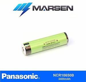 Panasonic NCR18650B 3.6v Lithium battery with protection PCB Mandurah Mandurah Area Preview