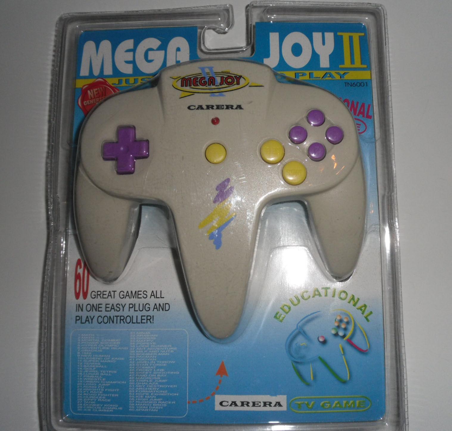 Retro Console MEGAJOY 2 II Carera TV Plug & Play 60 Video Games Retrogame
