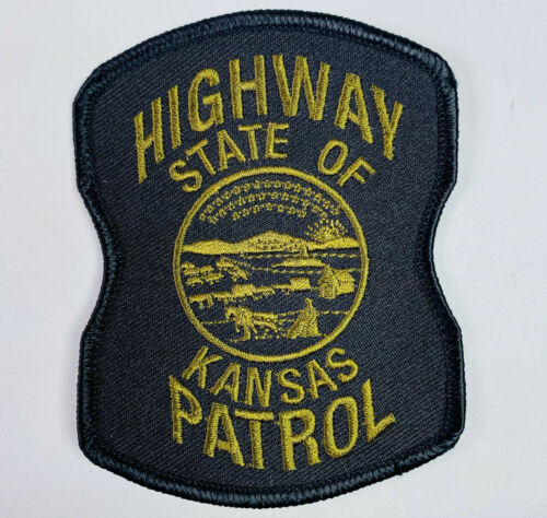 Kansas Highway Patrol Subdued Tactical KS State Trooper Police Patch