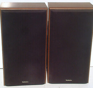 Technics SB-CR77 Vintage SPEAKERS 3-way 200 Watts STEREO MAIN 8 ohms 80s