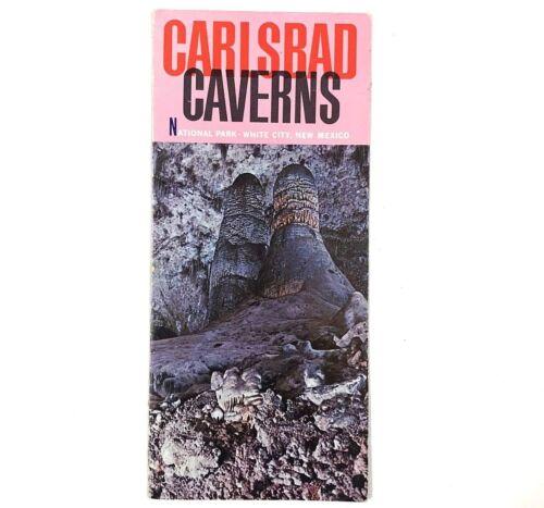 Vintage Carlsbad Caverns National Park New Mexico Brochure Travel Guide Motel