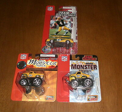 MINI MONSTER TRUCKS & 2003 MUSTANG BRETT FAVRE  (Mini-monster-trucks)