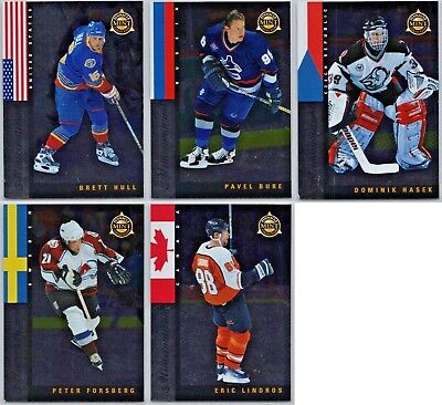 Pinnacle Mint (1997-98 PINNACLE MINT MINTERNATIONAL INSERT CARDS - PICK SINGLES - FINISH SET BV)