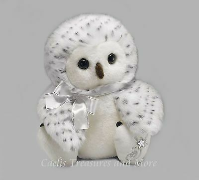 Russ Shining Stars Snowy Owl Plush Soft White Bird With All Tags