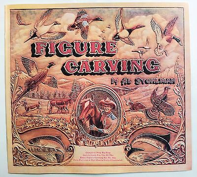 FIGURE CARVING BOOK 6045-00 Tandy Leather Craft Al Stohlman How To Tooling Books