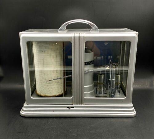 VTG Deco US Army Belfort Instrument Bendix Friez Instrument Microbarograph
