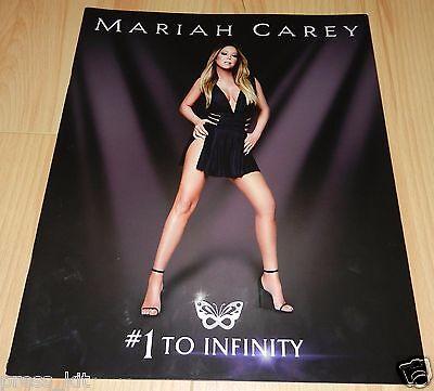 Mariah Carey Show Program Tour 1 to Infinity Las Vegas Music Night New Years Eve