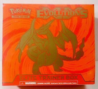 Pokemon XY Evolutions Elite Trainer Box Charizard New/Sealed