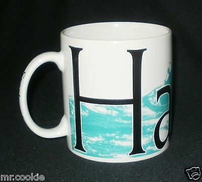 STARBUCKS Burg Mug Collection HAWAII 2007 20 fl oz. Coffee Cup Mug