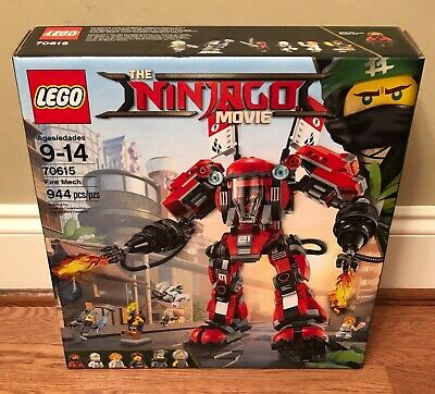 LEGO The Ninjago Movie Fire Mech 70615, Brand New - Retired!