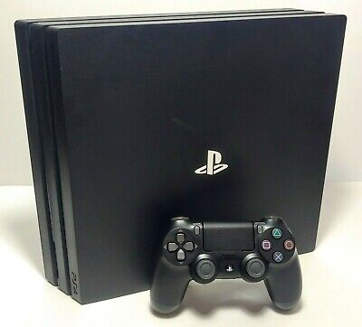 Sony PlayStation 4 Pro 1TB Console - PS4 - Includes Controller & Cables - TESTED