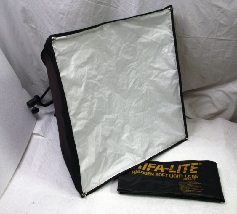 Lowell Rifa Lite LC 55 Halogen Softbox Light, with Diffuser & Pouch