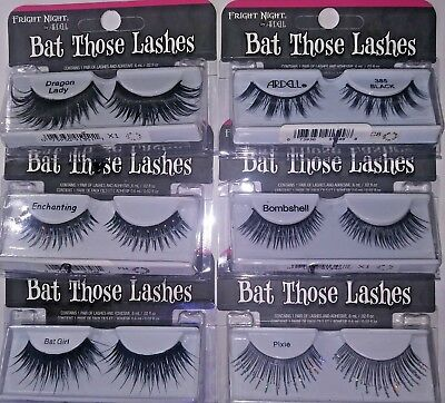 Ardell Bat Those Lashes False Fake Eyelashes Dramatic Costume Drag YOU CHOOSE (Bat Eyelashes)