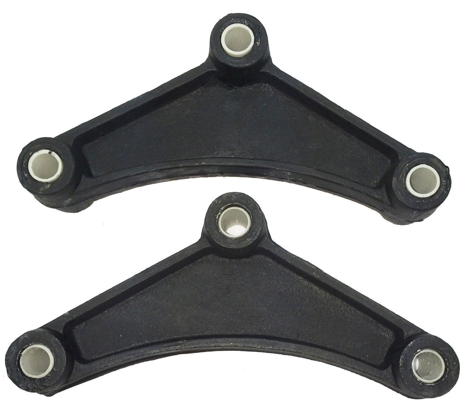 "2 New Trailer Leaf Spring Equalizers With 9/16"" Nylon Bushings - 23029"