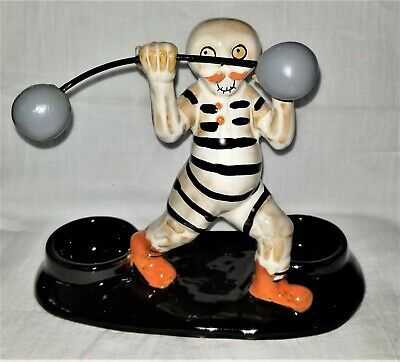 Yankee Candle Boney Bunch Strongman - Double Tealight Candle Holder - NIB 2019