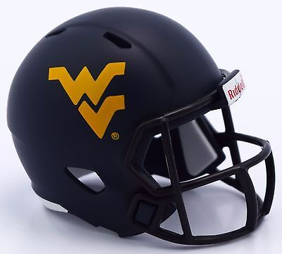 WEST VIRGINIA MOUNTAINEERS NCAA Football Helmet CHRISTMAS TREE ORNAMENT