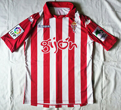 KAPPA Football soccer jersey Sporting GIJON season 2013-14 Scepovic match worn image