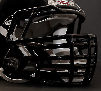 JUSTIN TUCK style Riddell Revolution SPEED Football Helmet Facemask - BLACK