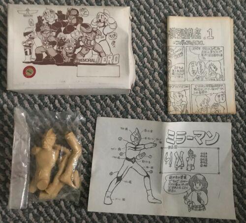 Japanese Kaiyodo Mirrorman Resin Model Kit not Godzilla Ultraman Izenborg Rodan
