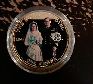 Queen Elizabeth II crowning moments gold coin collection