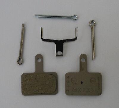 Shimano - Coppia pastiglie ORIGINALI Shimano B01S resina M486/M485/M575/M525-NEW