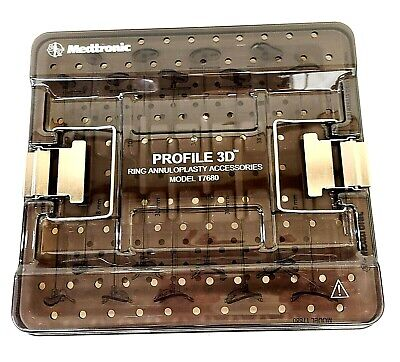 Medtronic Profile 3d Ring Annuloplasty Accessories Set In Tray Inv 5761 A11c