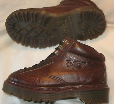 Dr Martens 8287 Grizzly Leather Shoe Boot Air Bex Sole Childrens Unisex Sz 3