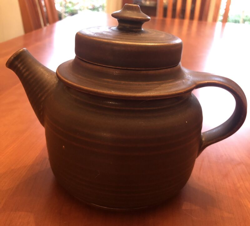 Arabia Finland Ruska Vintage 2-Cup Small Teapot