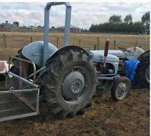 Grey Fergie Tractors X 2 Ballan Moorabool Area Preview