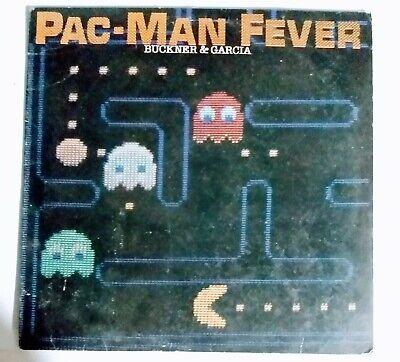 VTG Pac-Man Fever 1982 Vinyl LP Record Donkey Kong Centipede Buckner & Garcia!!