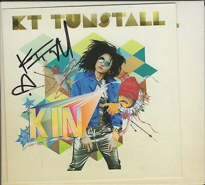 KT TUNSTALL - KIN - AUTOGRAPHED - CD - (OUR REF 1349)