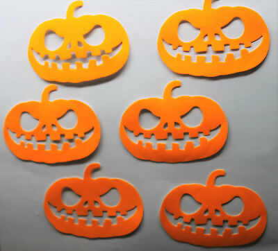 Citrouilles Halloween (6 X CITROUILLES HALLOWEEN  STICKER - AUTOCOLLANT)