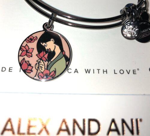 Disney 2020 Alex And Ani Mulan Live With Honor Black Bracele