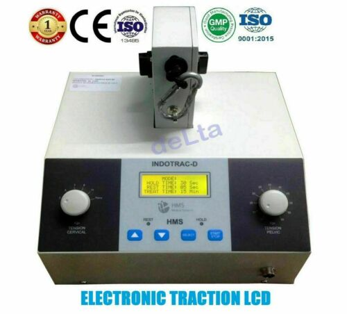 Cervical & Lumber Traction CE Certified Machine Spinal Stress free Physiotherapy