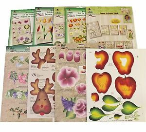 21 RTGs Reusable Tole Painting Crafts Teaching Guides One Stroke Donna Dewberry
