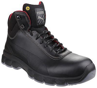 Puma Pioneer Mid Water Resistant Safety Mens Steel Toe Cap Work Boots UK6-12