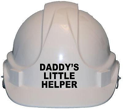 Daddy's Little Helper Children/Kids Hard Hat Safety Helmet/Cap One Size