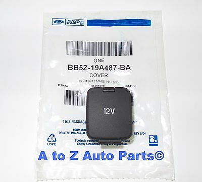 Ford F150, Expedition, Edge, Fusion 12V Volt Console Power Outlet Cover Cap,OEM