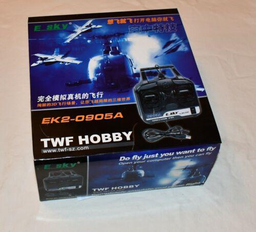 E-Sky Hobby Simulator Fms Models 002258. E Sky 0905a Usb