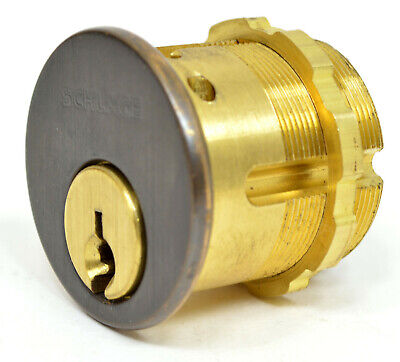 Schlage Mortise Cylinder Threaded Body C Keyway Free Shipping
