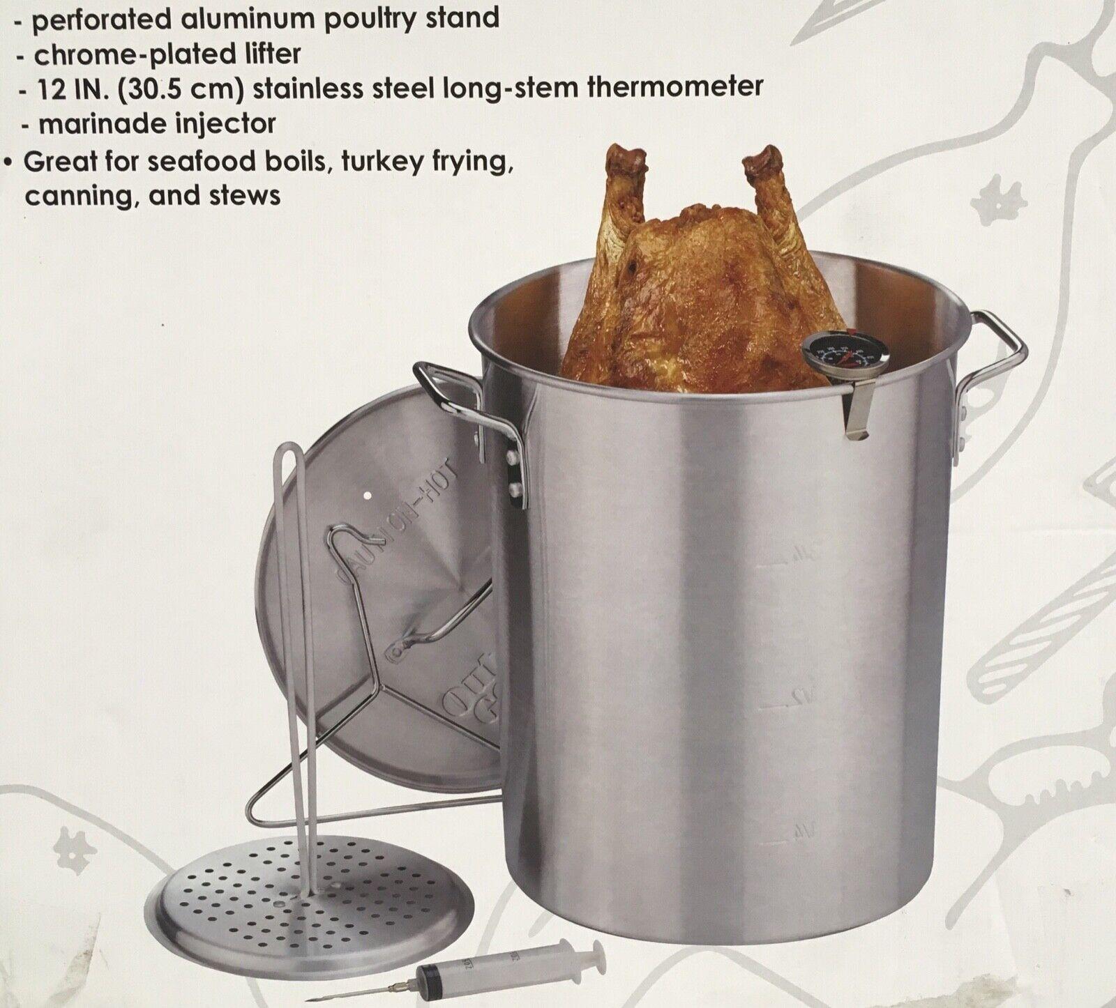Gourmet 30 qt. Turkey Fryer Aluminum Pot Kit