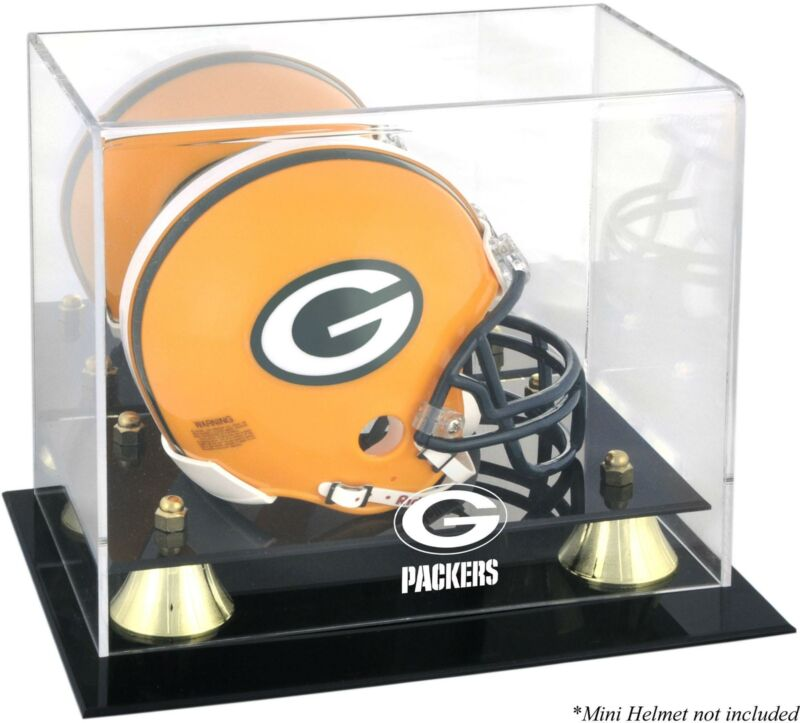Packers Mini Helmet Display Case - Fanatics