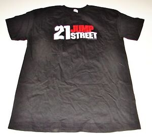 NEW 2012 21 JUMP STREET Movie Promo MEDIUM T-SHIRT Adult M twenty one