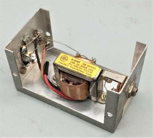 1 USED STANCOR  A-8101 Output Transformer PRI-500 OHMS @ SEC- 6-8 / 3.2 OHMS