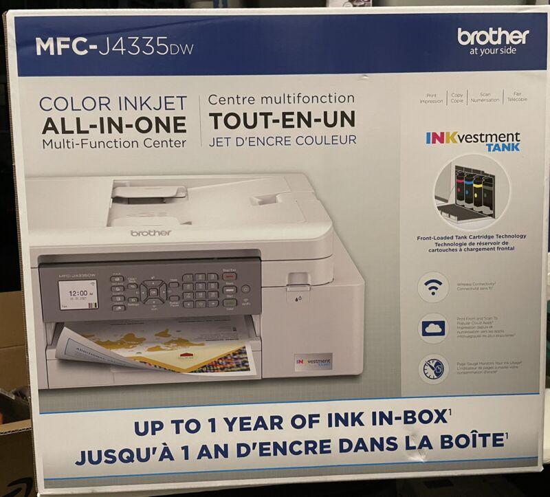 Brother MFC-J4335DW INKvestment Tank Printer Duplex Wireless Print Scan Copy Fax