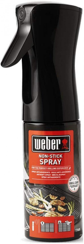 Weber 17685 Non Stick Spray Grillreinigung Reinigungsmittel Antihaft 200 ml
