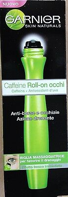 GARNIER CAFFEINE ROLL-ON OCCHI ANTI BORSE E OCCHIAIE