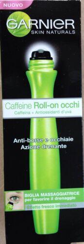 GARNIER CAFFEINE ROLL-ON OCCHI ANTI BORSE E OCCHIAIE (3 Pezzi)